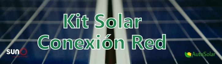 Banner Kits Solares Conexión Red