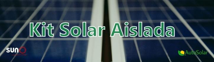 Banner Kit Solar Aislada